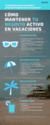 Cómo mantener tu negocio activo en vacaciones (Infografía)