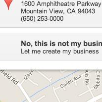 Para poner tu direccion completa en Google My Business