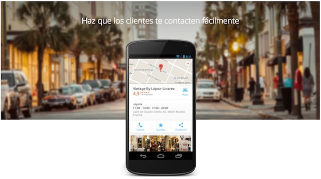 Como poner tu negocio en el mapa de Google